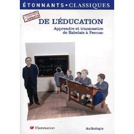 Les grands débats de l'éducation. Apprendre et transmettre de Rabelais à Pennac dans Autres image4